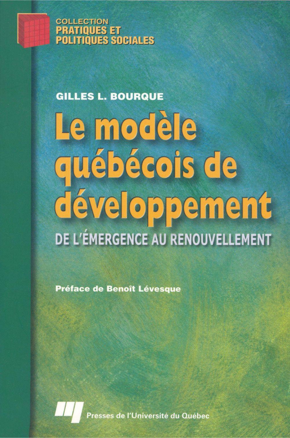 Le modèle québécois de développement