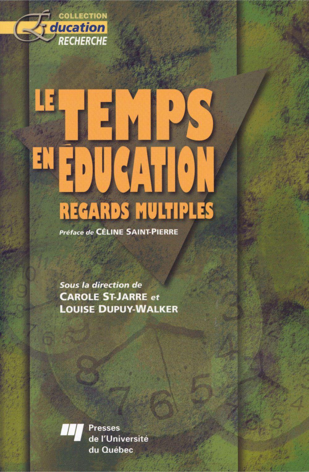 Le temps en éducation