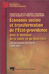 Économie sociale et transfo...