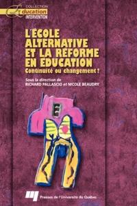 L'école alternative et la r...