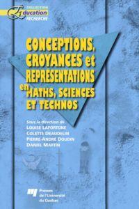 Conceptions, croyances et r...