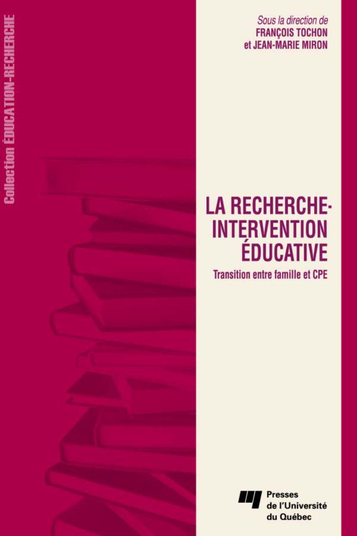 La recherche-intervention éducative