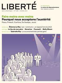 Revue Liberté 306 -Faire mo...