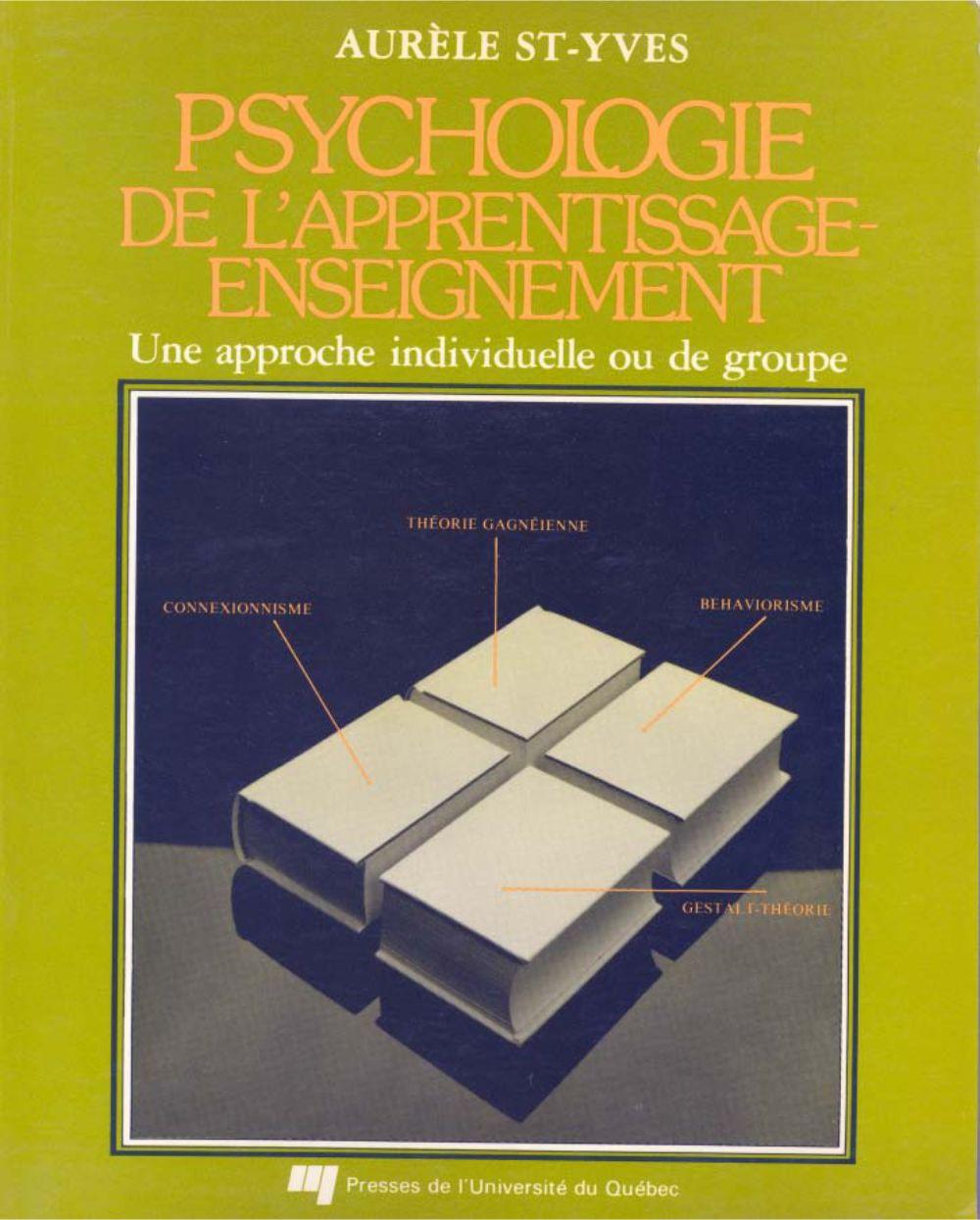 Psychologie de l'apprentissage-enseignement