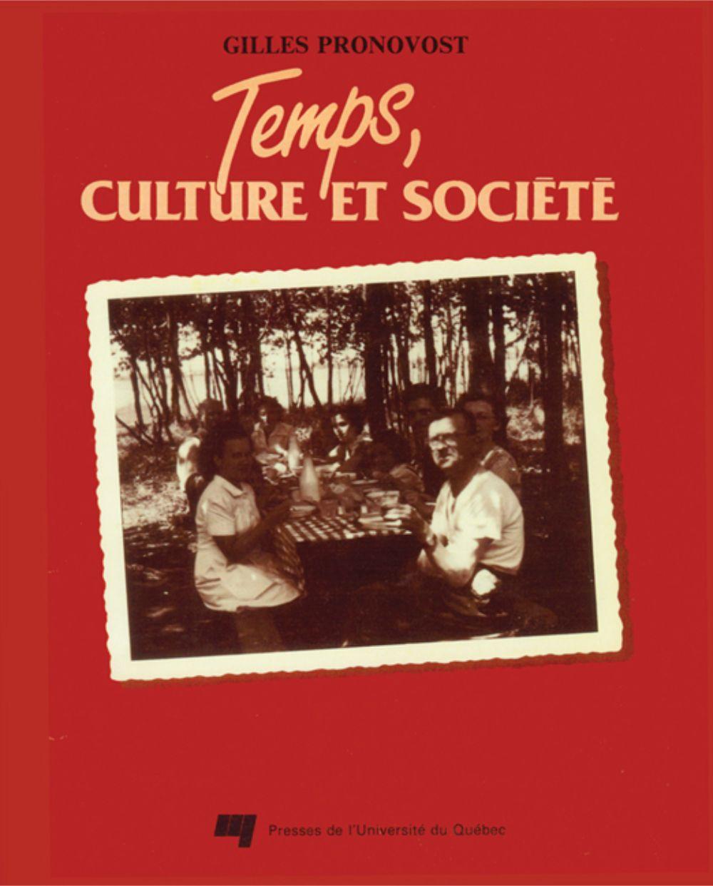 Temps culture et société