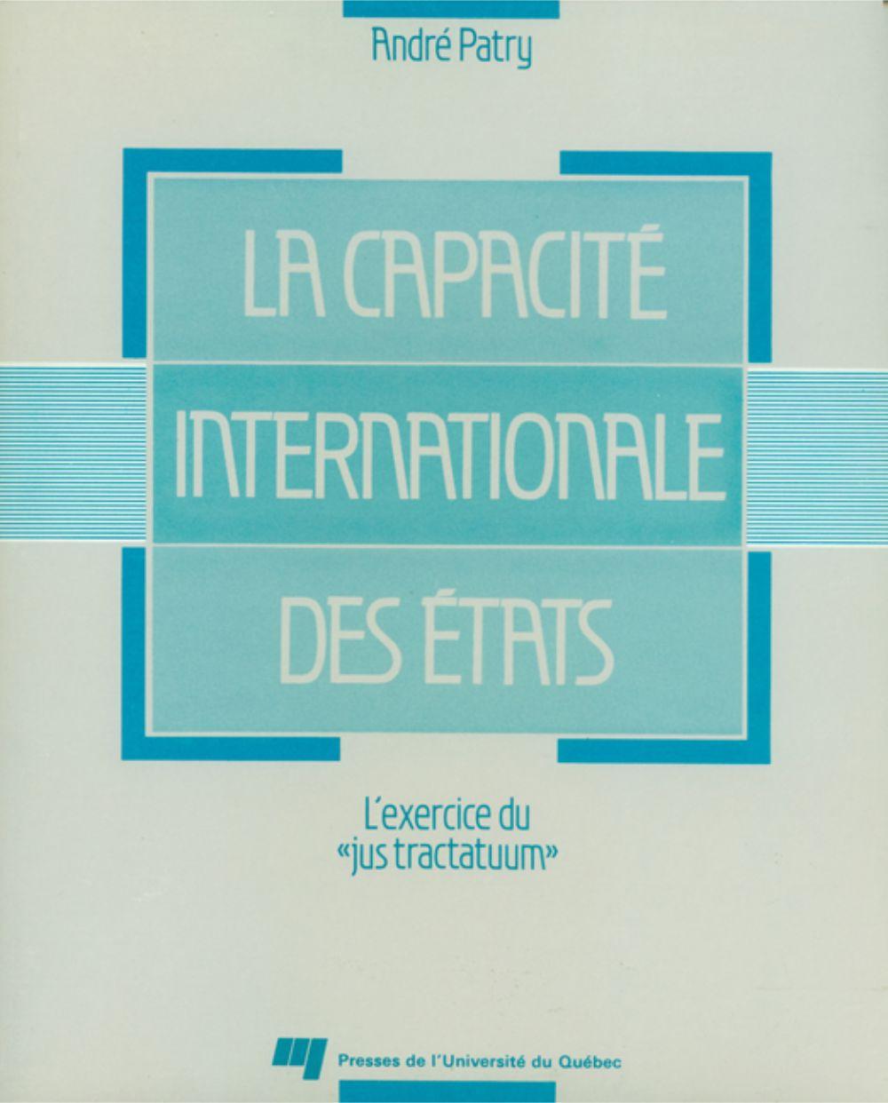 La capacité internationale des états