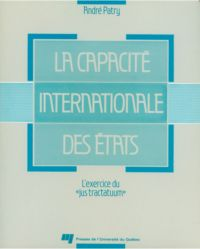 La capacité internationale ...