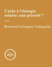 L'aide à l'énergie solaire:...