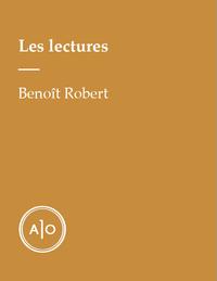 Les lectures de Benoît Robert
