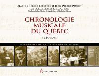 Chronologie musicale du Québec
