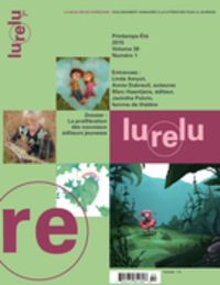 Image de couverture (Lurelu. Vol. 38 No. 1, Printemps-Été 2015)