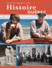 Histoire Québec. Vol. 20 No. 3,  2015