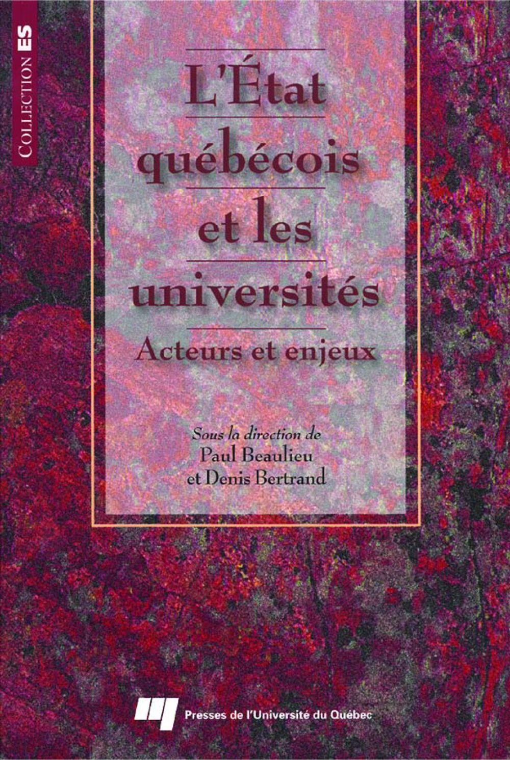 L'état québécois et les universités
