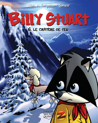 Billy Stuart 6 - Le cratère de feu