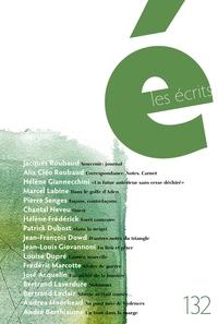 Image de couverture (Les écrits. No. 132. Août 2011)