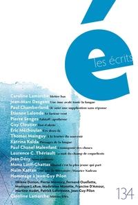 Image de couverture (Les écrits. No. 134. Mars 2012)