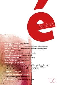 Les écrits. No. 136. Novembre 2012