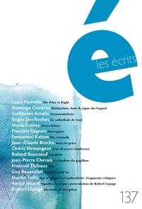 Les écrits. No. 137. Mars 2013