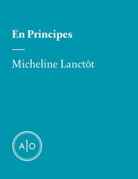En principes: Micheline Lanctôt