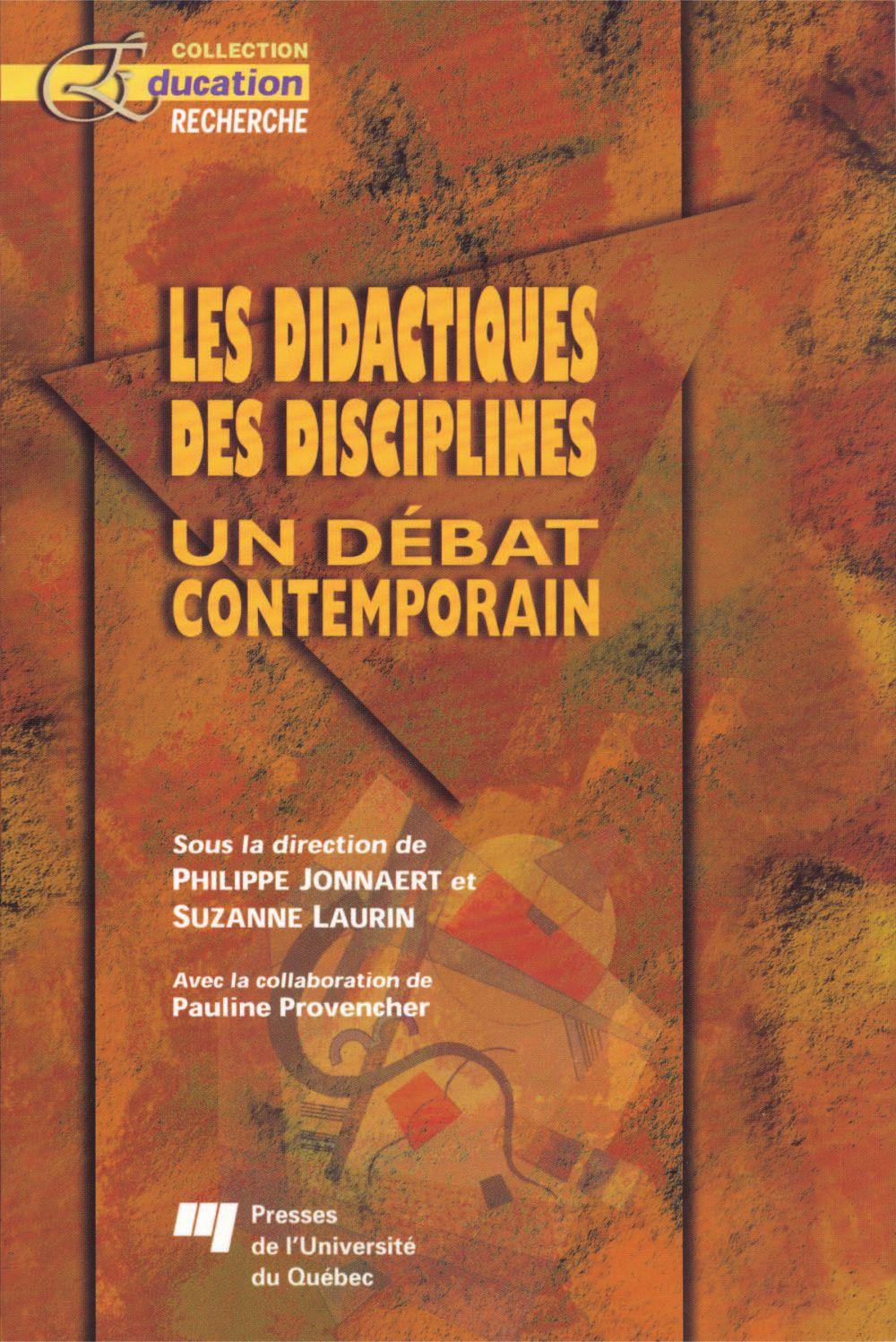 Les didactiques des disciplines