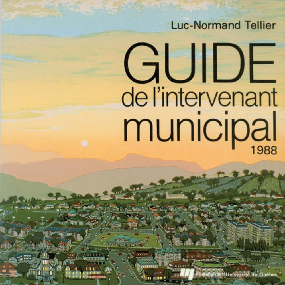 Guide de l'intervenant municipal 1988