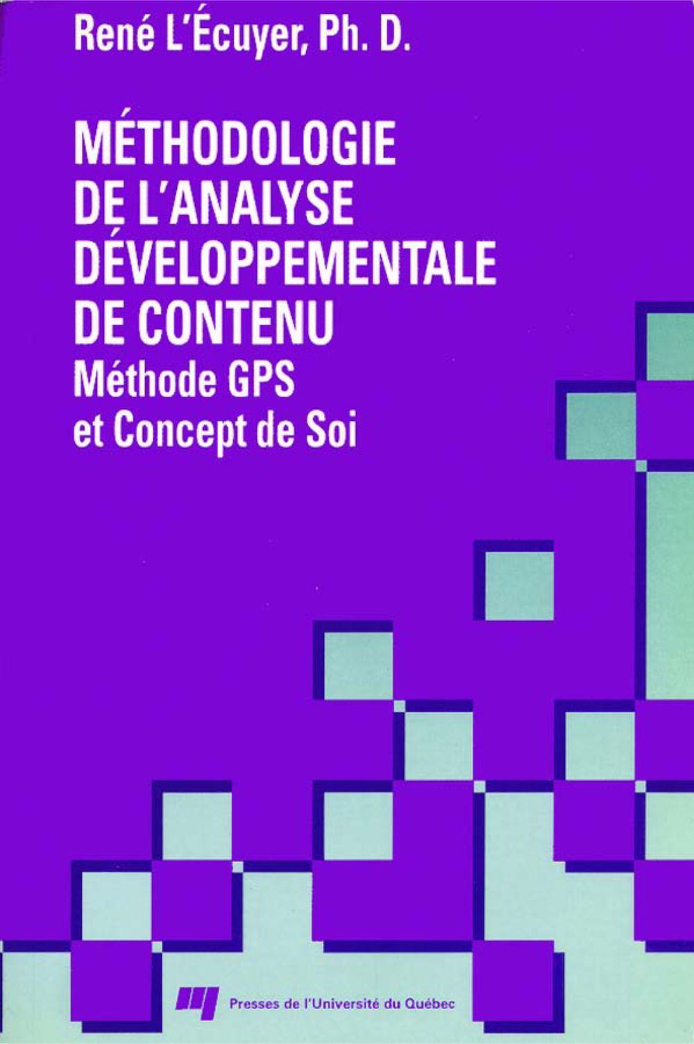 Méthodologie de l'analyse développementale de contenu