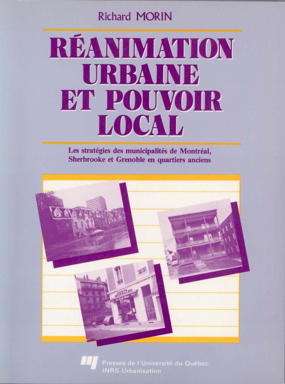Réanimation urbaine et pouvoir local