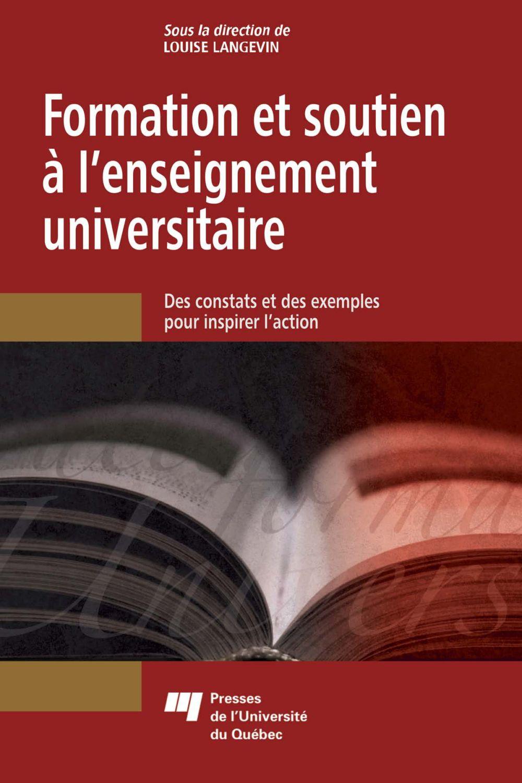 Formation et soutien à l'enseignement universitaire