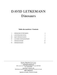 Dinosaurs, opus 2
