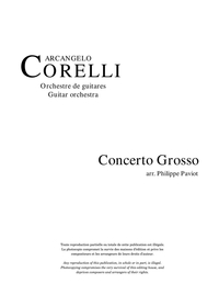 Concerto Grosso, no 4, opus 6