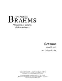 Sextuor, opus 18, no. 1 (2e mouv.)