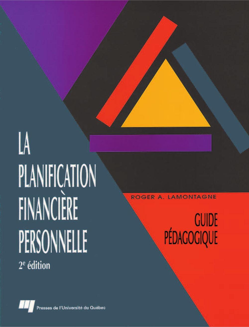 La planification financière personnelle, 2e édition
