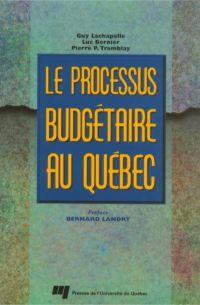 Le processus budgétaire au ...