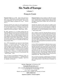 Six Noëls d'Europe, vol. 1