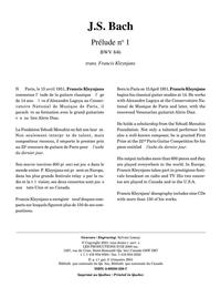 Prélude no 1, BWV 846