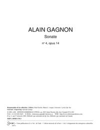 Sonate opus 14, no. 4