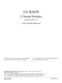 2 Chorale Preludes