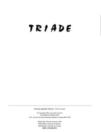 Triade - Ballades impressionnistes