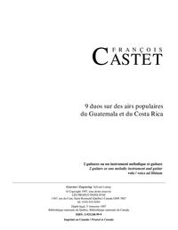 9 duos sur des airs populaires du Guatemala et du Costa Rica