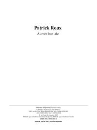 Scènes panoramiques - Aurore boréale