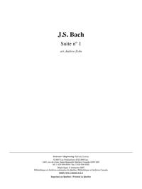 Suite no 1, BWV 1007