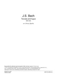 Toccata and Fugue, BWV 565