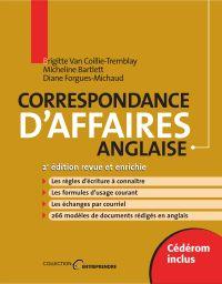 Correspondance d'affaires anglaise, 2e édition