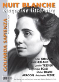 Nuit blanche, magazine littéraire. No. 140, Automne 2015