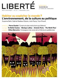 Revue Liberté  311 - Habite...