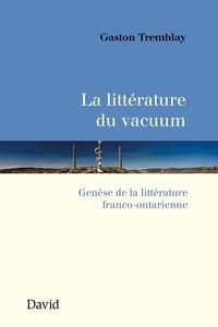La littérature du vacuum