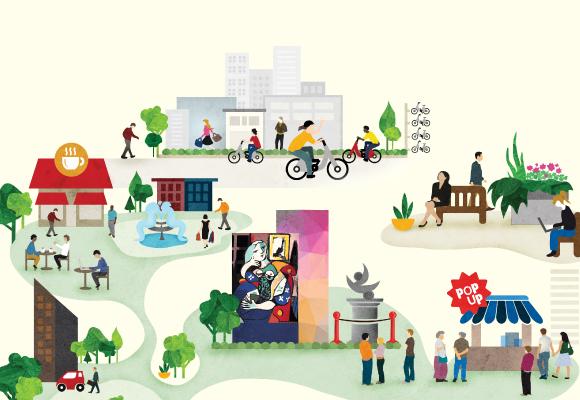 Réinventer la ville, une artère commerciale à la fois