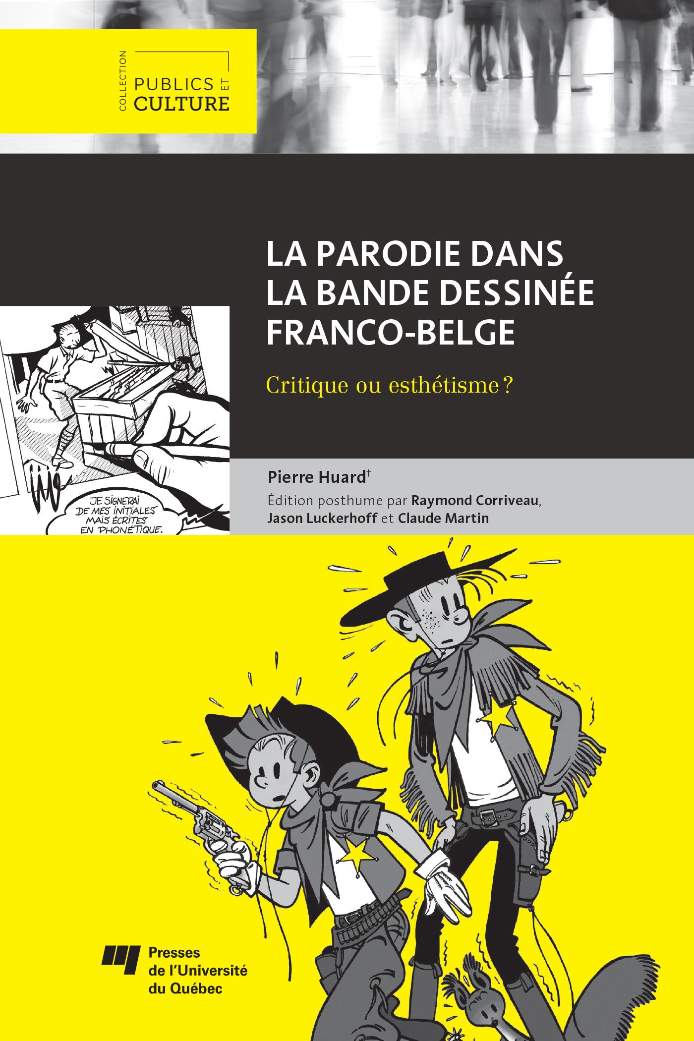 La parodie dans la bande dessinée franco-belge, Critique ou esthétisme?