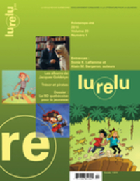 Image de couverture (Lurelu. Vol. 39 No. 1, Printemps-Été 2016)