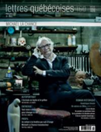 Lettres québécoises. No. 160, Hiver 2015